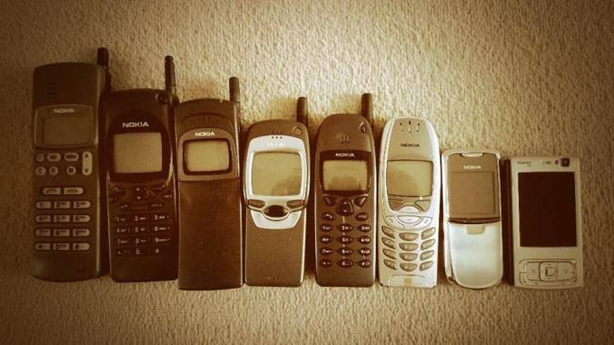 Blast from the past ... How many Nokia can you name?