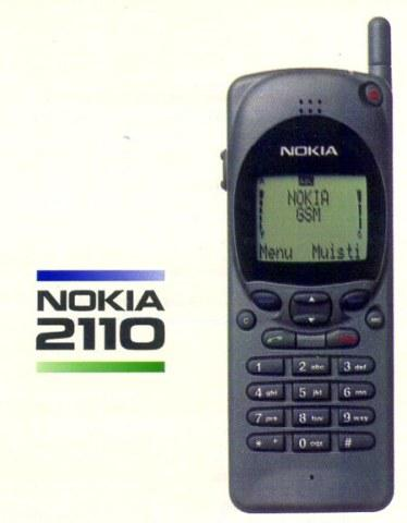 Flash Back 90s ... Presenting my First True Love in mobile phone - the super lasting Nokia 2110