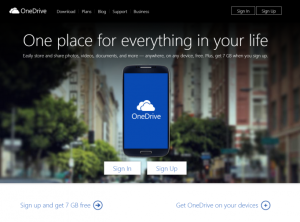 OneDrive_website